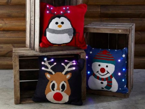 Primark launch £10 light-up Christmas cushions and we want them immediately