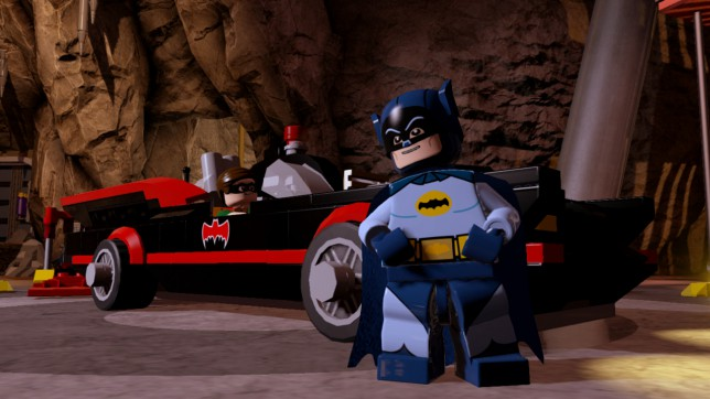 Lego Batman 3: Beyond Gotham (PS4) - the game is obsessed with '60s Batman