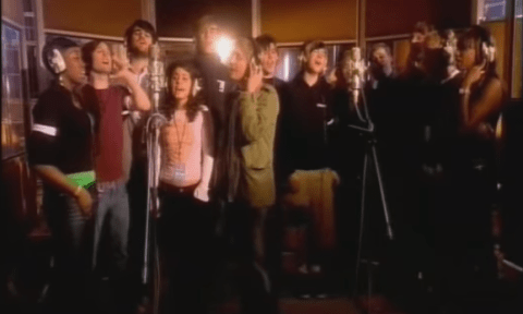 Band Aid 30: Don't forget kids, Bob Geldof's done this Band Aid thing three times before…