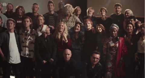 Band Aid 30: The full video lands and lives up to the hype