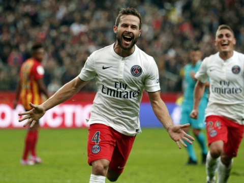Manchester United set to make transfer offer for PSG outcast Yohan Cabaye
