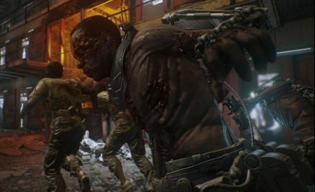 Call Of Duty: Advanced Warfare - this is what the unlockable zombies look like