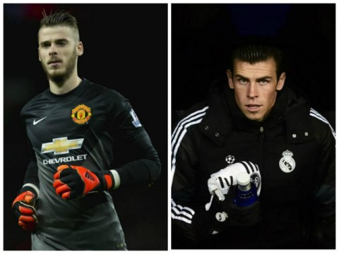 Manchester United will have to sell David De Gea to Real Madrid if they want Gareth Bale transfer