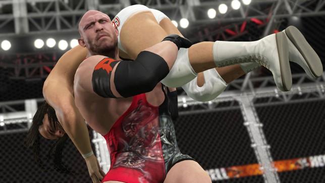 WWE 2K15 (XO) - authentically ugly