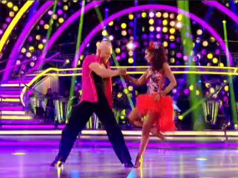 Strictly's Jake Wood twerked to the Macarena and it was everything