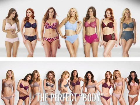 JD Williams take on Victoria's Secret's 'Perfect Body' campaign doesn't celebrate anything