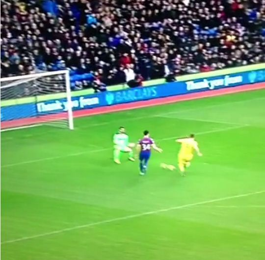 Rickie Lambert's expertly-taken first Liverpool goal against Crystal Palace is definitely worth the wait