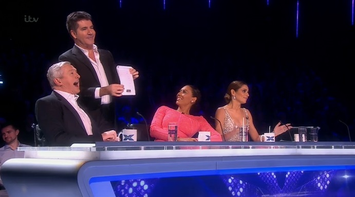 The X Factor 2014 live shows: Louis Walsh 'struggles' to remember the names of Stereo Kicks