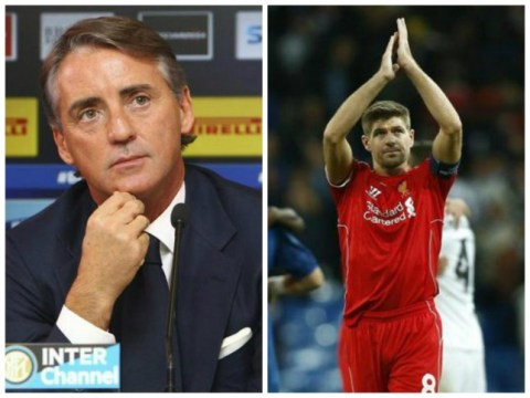 Inter Milan targeting Liverpool's Steven Gerrard in January transfer