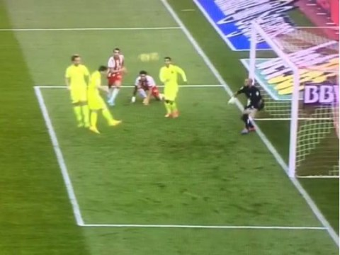 Lionel Messi somehow misses header from five yards out in Barcelona win over Almeria