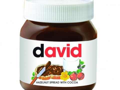 Personalised Nutella – there's a jar with your name on it