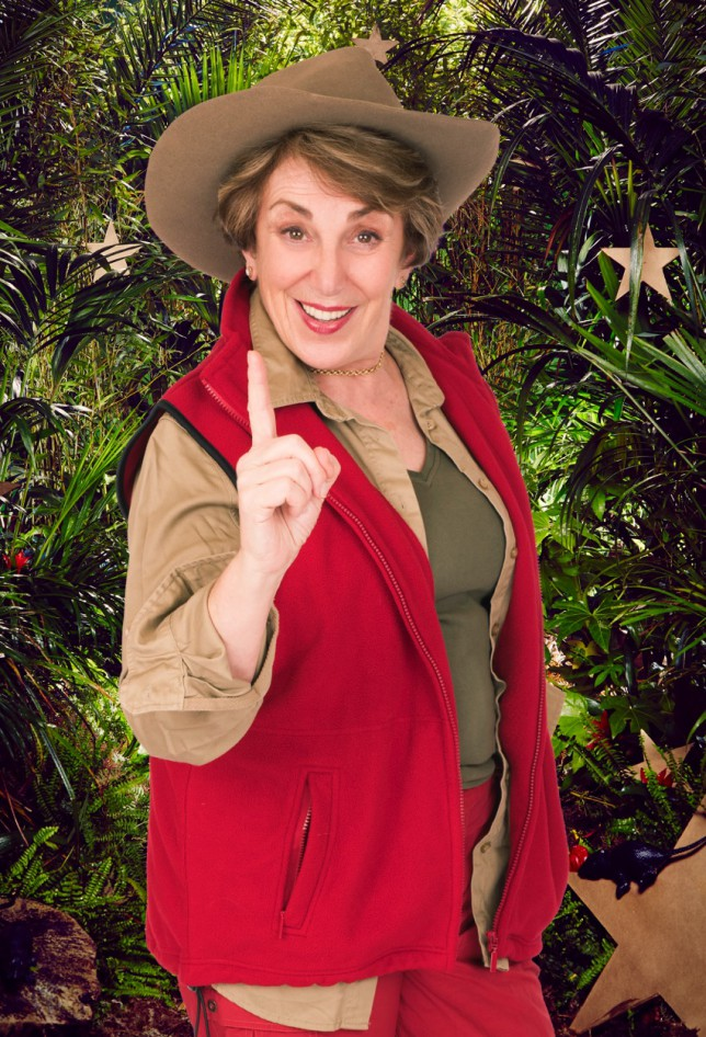 I'm A Celebrity 2014 - Edwina Currie (Picture: ITV)
