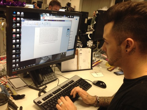 Exclusive Jaymi Hensley Union J blog: X Factor goss and singing for the boss