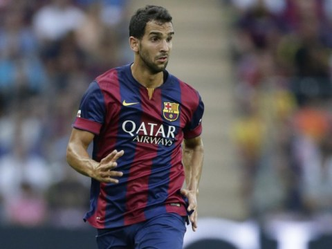 Barcelona's Martin Montoya 'definitely leaving in January', which could alert Liverpool to transfer swoop