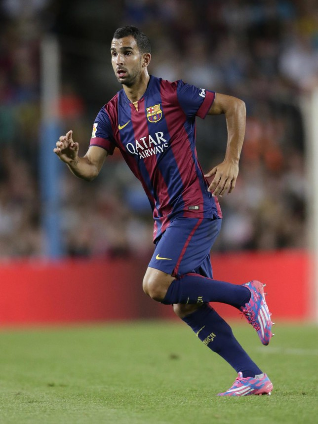 Liverpool given green light by agent to move for Barcelona right-back Martin Montoya