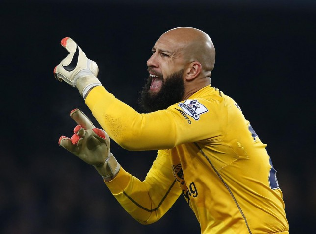 Is Everton's Tim Howard paying the price for THAT World Cup game?