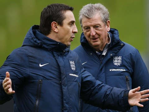 England manager Roy Hodgson backs Gary Neville's appointment as Valencia head coach