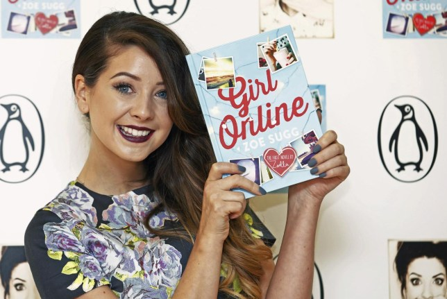 "YouTube blogger Zoe Sugg, known as Zoella, poses during a photocall for her debut novel ""Girl Online"" in London November 24, 2014. REUTERS/Luke MacGregor (BRITAIN - Tags: ENTERTAINMENT) Luke Macgregor/Reuters"