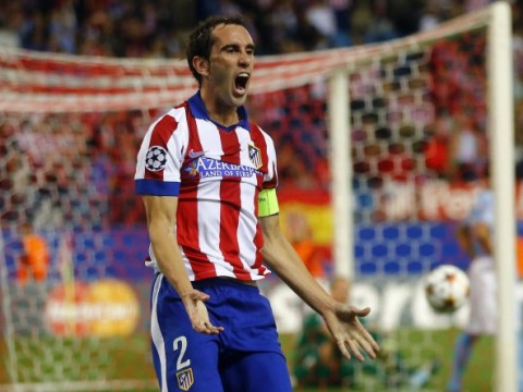 Manchester United will have to stump up far more than £16m for January Diego Godin deal, insists Diego Simeone