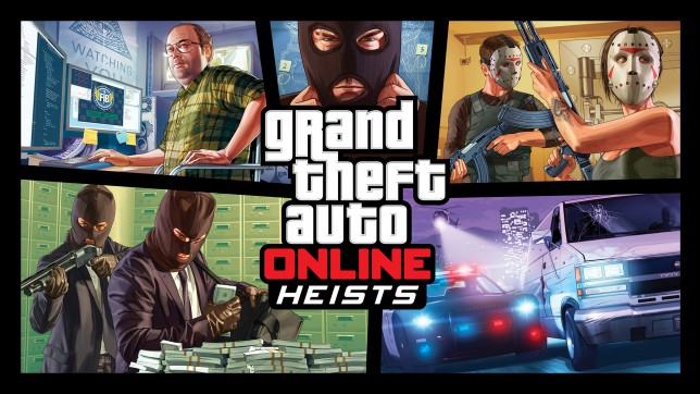 Are Heists GTA Online's equivalent to Raids?