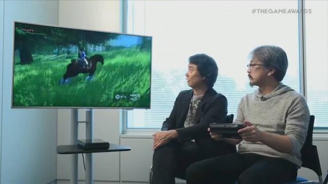 The Legend Of Zelda on Wii U - it's big