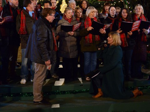 EastEnders: Love is in the air at Christmas as Jane pops the question to Ian Beale