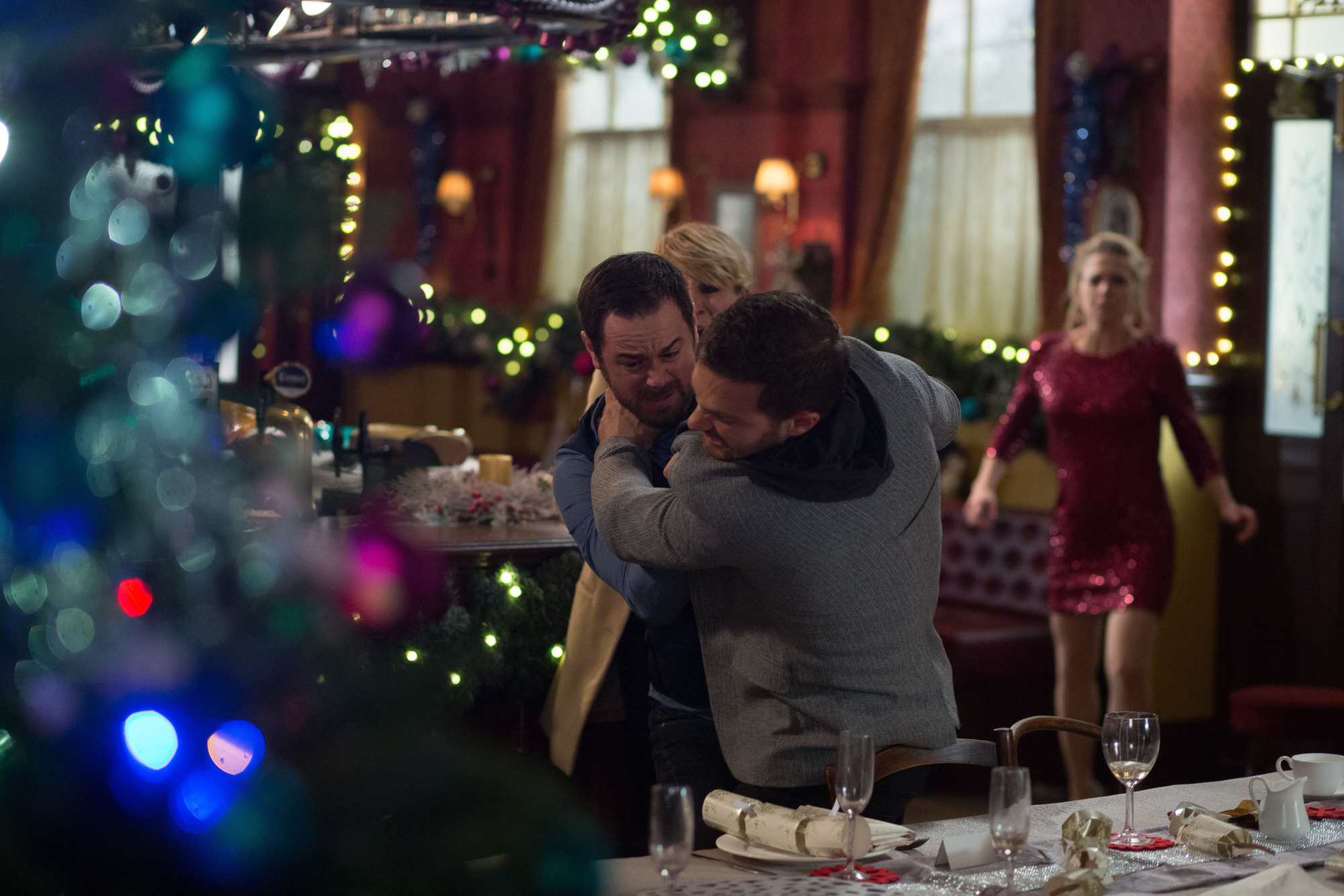 EastEnders, EastEnders Christmas Day 2014, Mick Carter, Dean Wicks