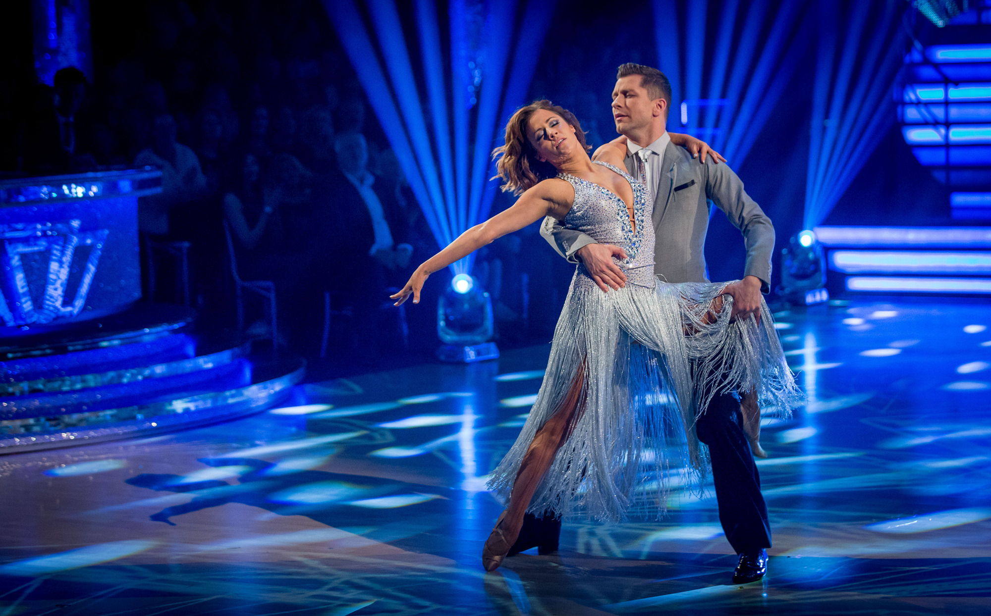 Flawless Caroline Flack bags the first perfect score of Strictly Come Dancing 2014