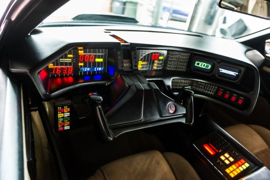 Fan Spends £18,000 To Transform Wreck Into Iconic Knight Rider Car