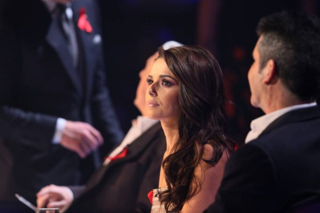 *** MANDATORY BYLINE TO READ: Syco / Thames / Corbis ***<BR /> The X Factor judges are seen at the X Factor live show in London. Credit: Jenkins/Syco/Thames/Corbis <P> Pictured: Cheryl Fernandez-Versini, Simon Cowell, Mel B, Louis Walsh <B>Ref: SPL901163  291114  </B><BR /> Picture by: Jenkins / Syco / Thames / Corbis<BR /> </P>