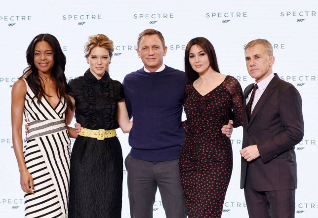 04.DECEMBER.2014 - BUCKINGHAMSHIRE - LONDON CAST MEMBERS ATTEND A MEDIA CALL AS SHOOTING FOR THE NEW MOVIE IN THE JAMES BOND FRANCHISE GETS UNDERWAY. THE TITLE OF THE 24TH PROJECT IS EXPECTED TO BE REVEALED AS WELL AS WALTZ AS THE NEW BOND VILLAIN. ANNOUNCEMENT IS MADE AT THE STUDIO'S 007 STAGE BYLINE MUST READ : XPOSUREPHOTOS.COM ***UK CLIENTS - PICTURES CONTAINING CHILDREN PLEASE PIXELATE FACE PRIOR TO PUBLICATION *** UK CLIENTS MUST CALL PRIOR TO TV OR ONLINE USAGE PLEASE TELEPHONE 0208 344 2007**