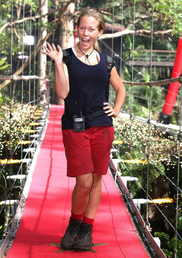 Kendra Wilkinson blasts Edwina Currie as she and Tinchy Stryder exit I'm A Celeb