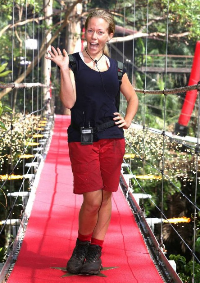 Mandatory Credit: Photo by REX (4277717i)  Kendra Wilkinson  'I'm A Celebrity...Get Me Out Of Here!' TV Programme, Australia - 05 Dec 2014  5th and 6th Evictees Tinchy Stryder and Kendra Wilkinson