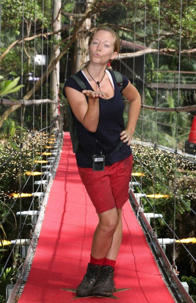 Mandatory Credit: Photo by REX (4277717m)  Kendra Wilkinson  'I'm A Celebrity...Get Me Out Of Here!' TV Programme, Australia - 05 Dec 2014  5th and 6th Evictees Tinchy Stryder and Kendra Wilkinson
