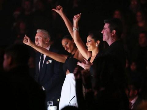 Cheryl blames dress troubles for Idina Menzel and Michael Buble X Factor snub