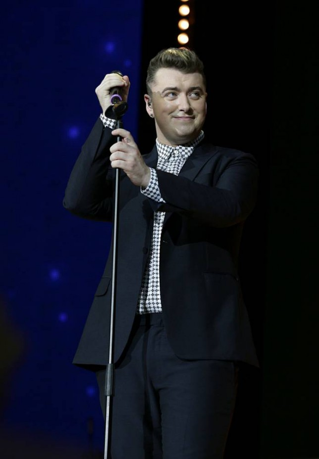 Sam Smith performing on stage during the 2014 Capital Jingle Bell Ball at the O2 Arena, London. PRESS ASSOCIATION Photo. Picture date: Sunday December 7, 2014. Photo credit should read: Yui Mok/PA Wire