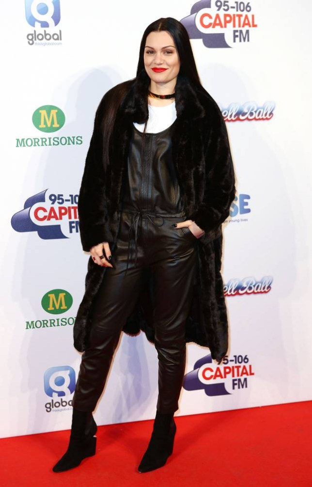 Capital Radio Jingle Bell Ball, O2 Arena <P> Pictured: Jessie J <B>Ref: SPL904492  071214  </B><BR /> Picture by: Elliot / Splash News<BR /> </P> <P><B>Splash News and Pictures</B><BR /> Los Angeles: 310-821-2666<BR /> New York: 212-619-2666<BR /> London: 870-934-2666<BR /> photodesk@splashnews.com<BR /> </P>