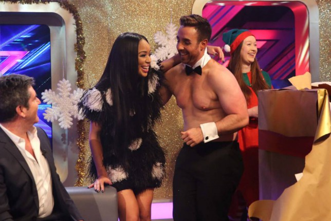 Sarah-Jane Crawford, Stevi Richie, X Factor