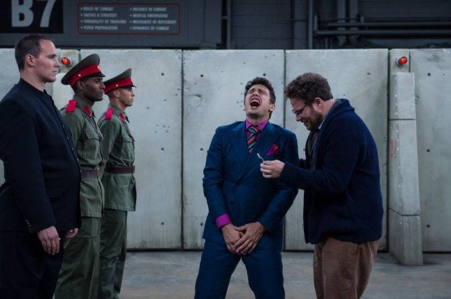 Dave (James Franco) and Aaron (Seth Rogen) in Columbia Pictures' THE INTERVIEW..