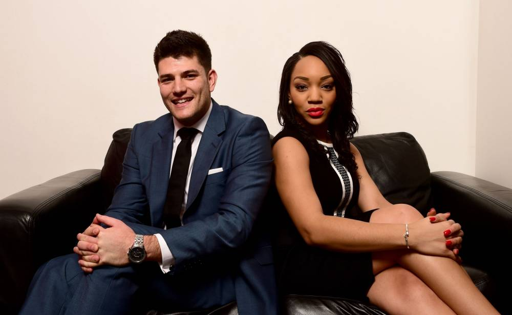 Mark Wright, 24, an Australian digital marketing sales manager who lives in London and Bianca Miller, 25, from London who owns a branding company and who are the final two candidates in this year's The Apprentice. PRESS ASSOCIATION Photo. Picture date: Thursday December 18, 2014. See PA story SHOWBIZ Apprentice. Photo credit should read: Ian West/PA Wire