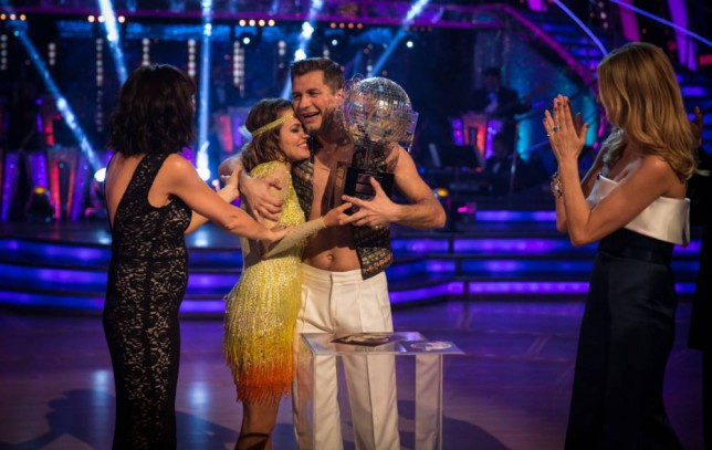 Caroline Flack, Pasha Kovalev, Strictly 2014, Strictly Come Dancing winner