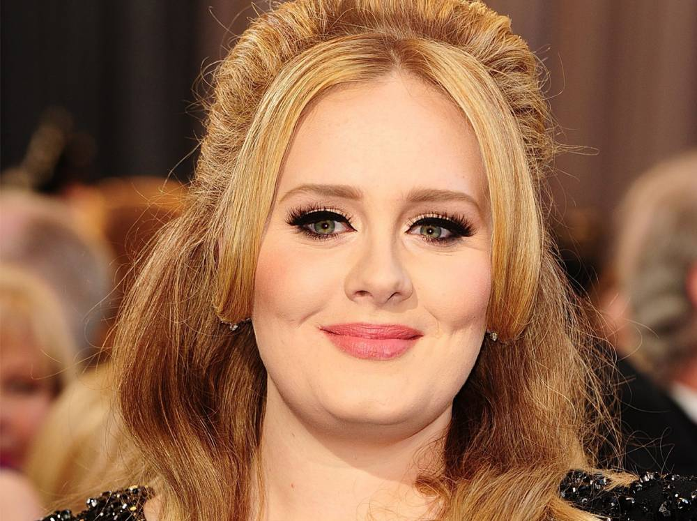 """Adele whose record label boss says he is """"pleased"""" with progress on her new album - but said it will take as long as necessary to get it right. PRESS ASSOCIATION Photo. Issue date: Tuesday November 25, 2014. The singer has achieved colossal success around the world for her first two releases 19 and 21 which have sold in the region of seven million copies between them in the UK alone. There had been hopes that the star - who had a son Angelo two years ago - would release a follow-up this year but the recording process appears to be ongoing and a release date is still to be announced See PA story SHOWBIZ Adele. Photo credit should read: Ian West/PA Wire"""