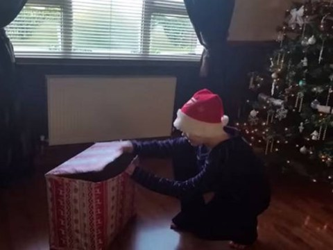 Is this clip of a boy being given a dog the most adorable Christmas home video this year?