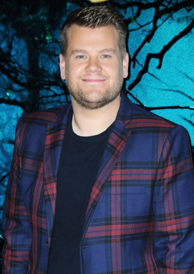 """LONDON, ENGLAND - DECEMBER 12:  (SUN NEWSPAPER OUT. MANDATORY CREDIT PHOTO BY DAVE J. HOGAN GETTY IMAGES REQUIRED) James Corden attends a photocall for """"Into The Woods"""" at Corinthia Hotel London on December 12, 2014 in London, England.  (Photo by Dave J Hogan/Getty Images)"""