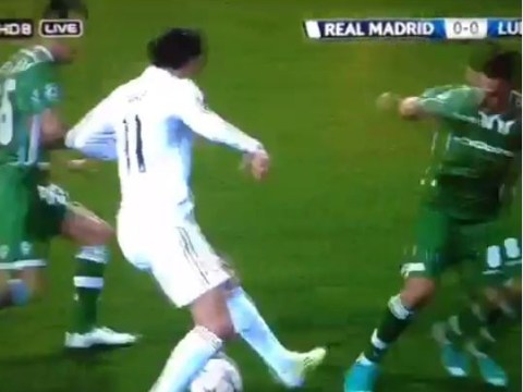 Gareth Bale shows off unbelievably silky footwork during Real Madrid's Champions League win over Ludogorets