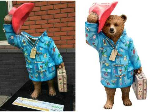 Paddington Bear statue designed by 13-year-old girl is beheaded