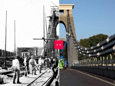Spanning 150 years – amazing photos of Brunel's Clifton Suspension Bridge