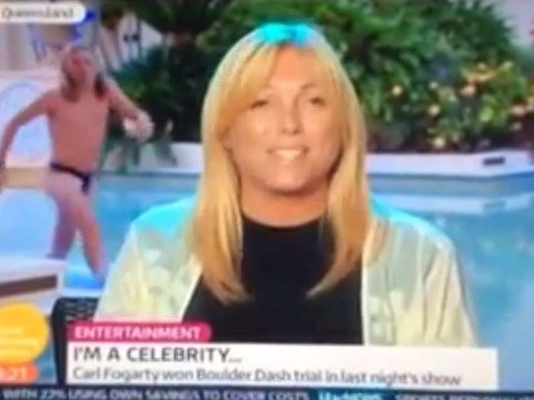 Jimmy Bullard gatecrashes Good Morning Britain in nothing but his budgie smugglers!