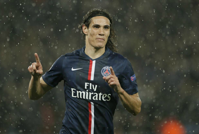 Louis van Gaal wants Edinson Cavani to join Manchester United this summer (Picture:Getty)