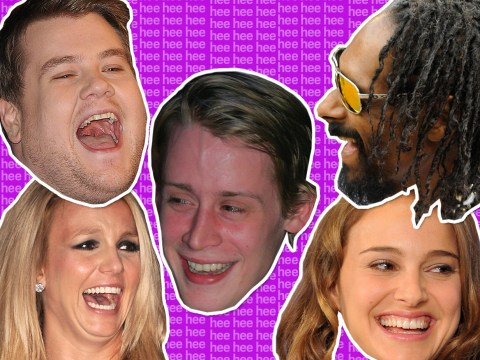 Guess the laugh: Match the weird laugh to the famous face who made it